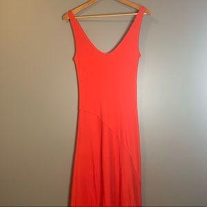 Ralph Lauren black label red maxi dress